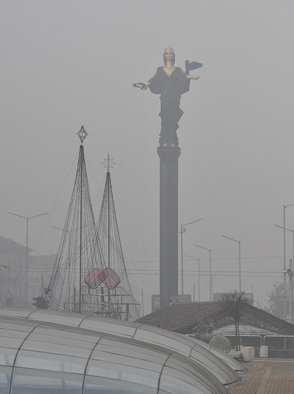 sofia air polution