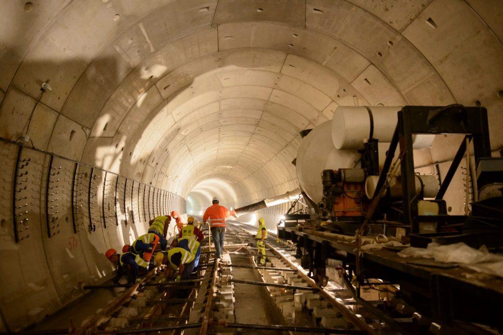 Строеж на метрото в София