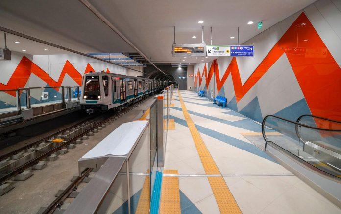 Новата станция на метрото в София