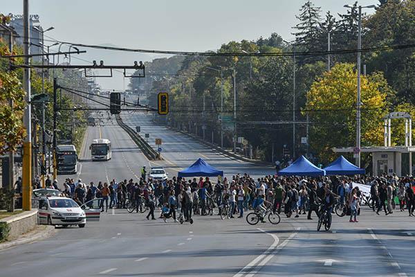 Протест на Орлов мост