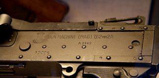 Бордова английска картечница