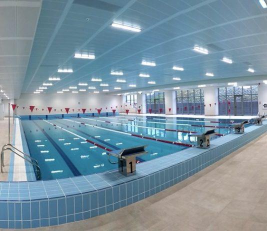 басейн с олимпийски размери