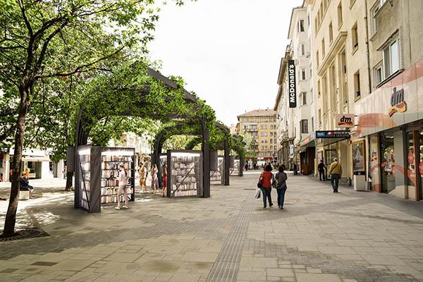 книжен пазар площад