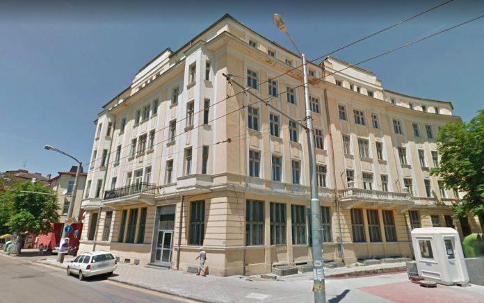 Бившата сграда на дирекция на полицията