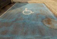 Място за инвалиди