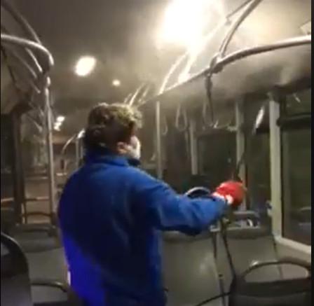 public-transportatipublic-transportation-dezinfectionon-dezinfection
